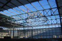 Primary and secundary steel constructions